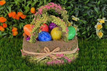 Osternest zu Ostern